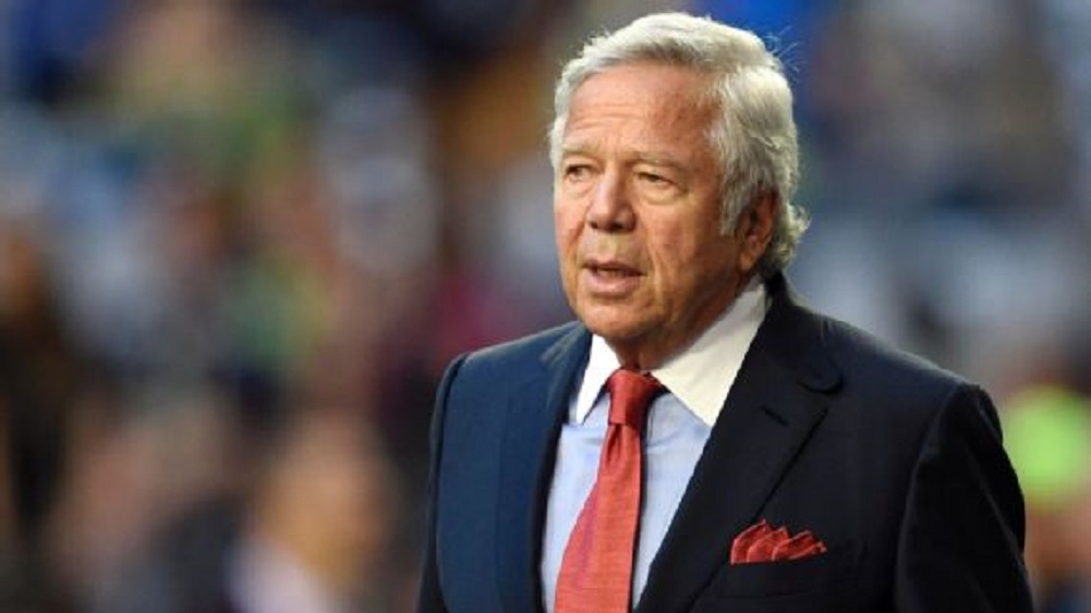 Kraft's attorneys challenge video taken at massage parlor