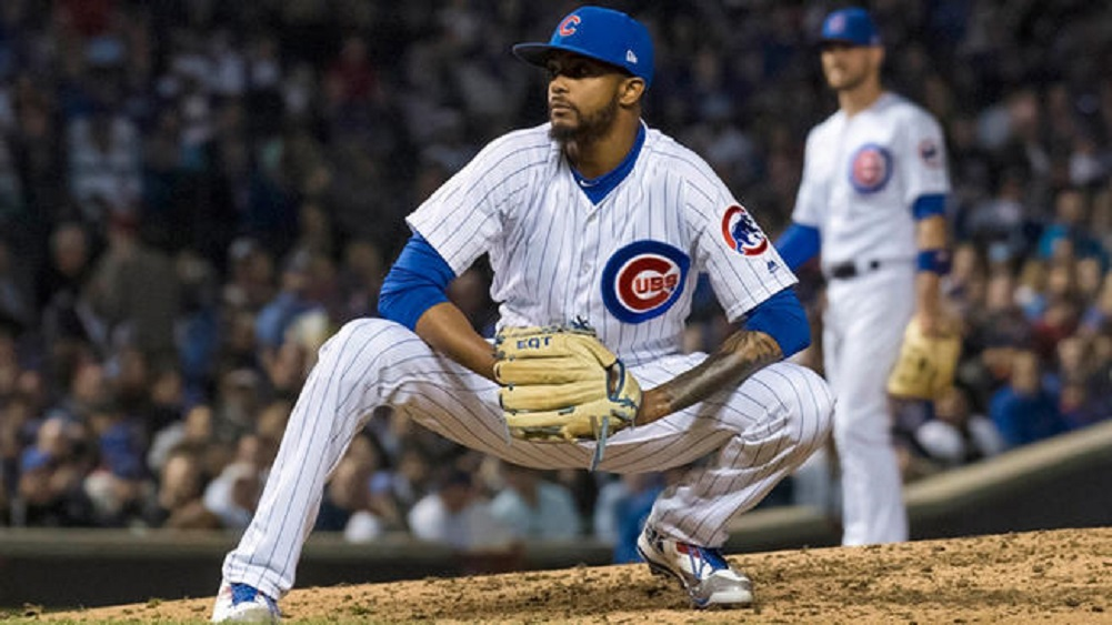 MLB investigating racist message sent to Cubs' Carl Edwards
