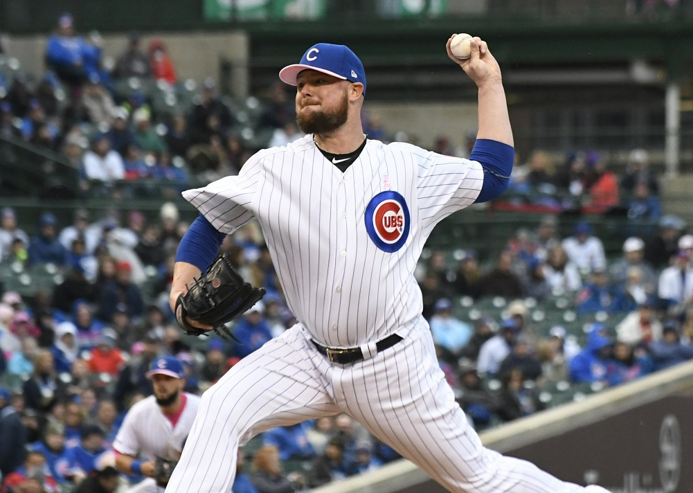 Lester pitches Cubs past Brewers for series win