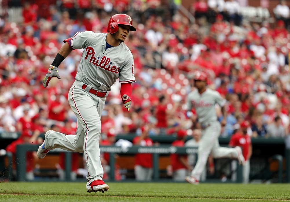 Eickhoff allows 3 hits in 8 innings, Phillies blank Cards