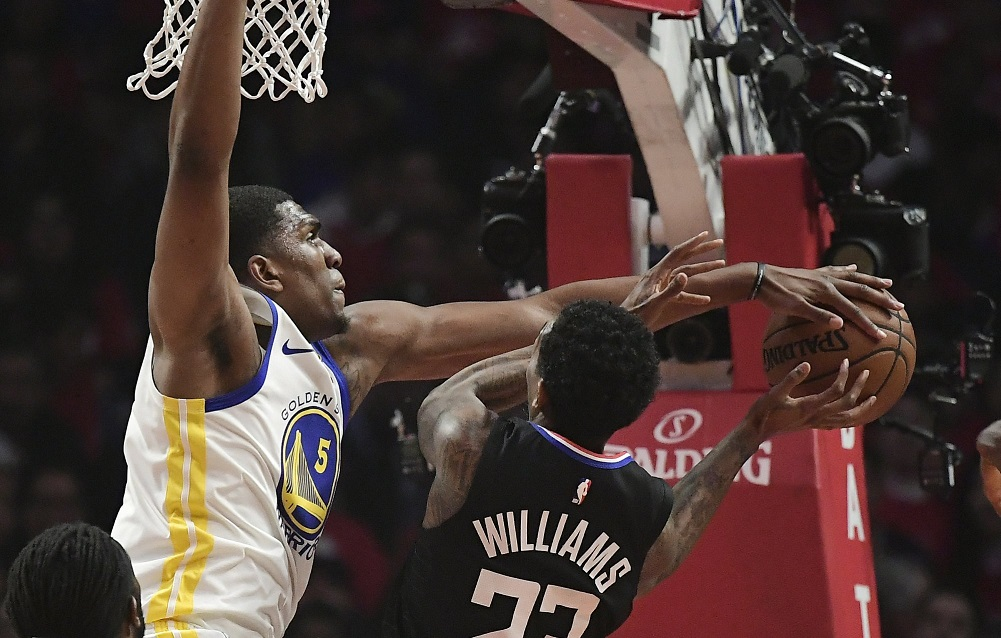 Durant, Curry shut down Clippers in Warriors' win
