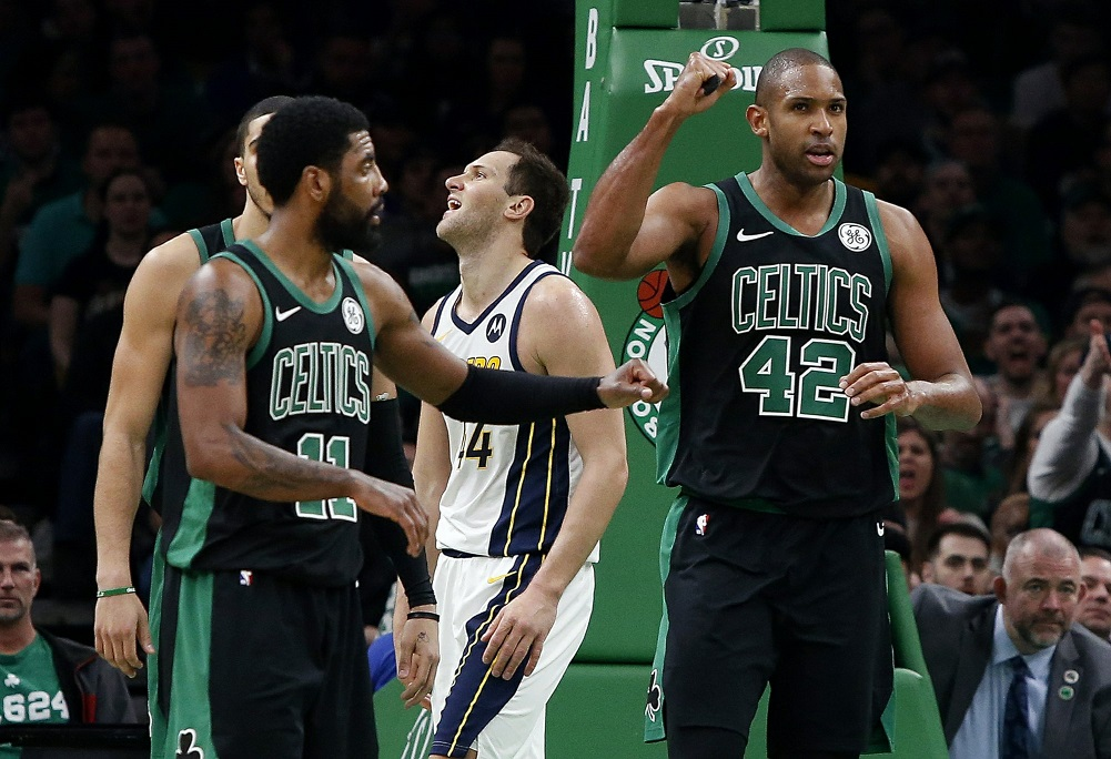 Irving, Morris lead Celtics' rally past Pacers