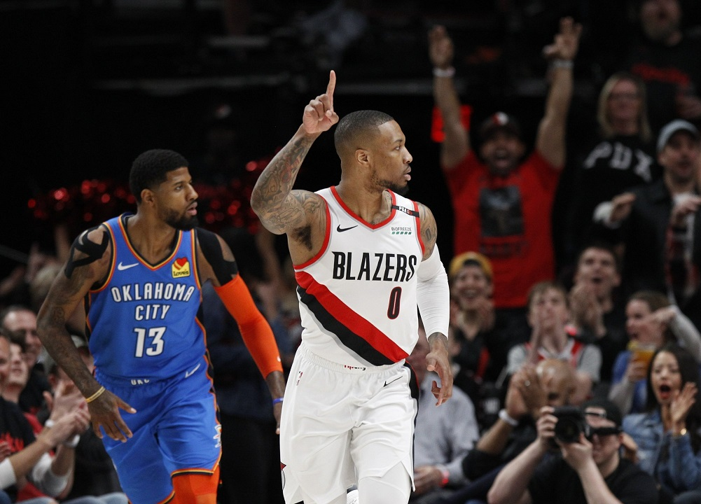 Portland wins Game 1 against the Thunder