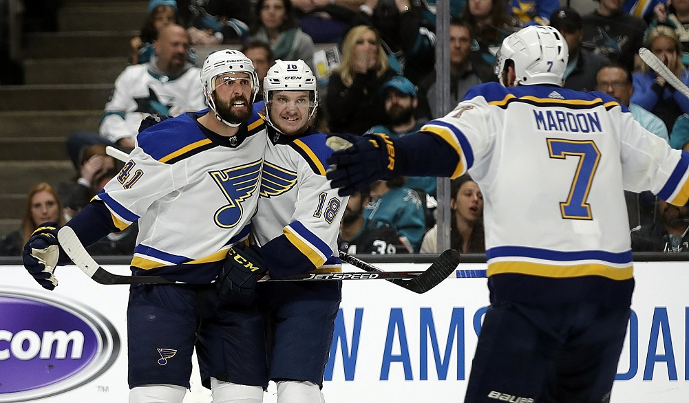 Blues defense fuels offense in Game 2 win over Sharks