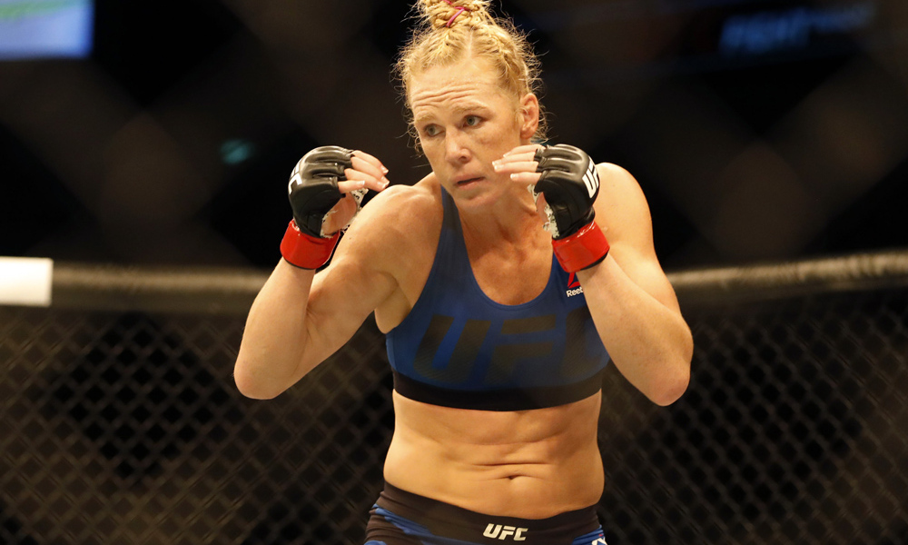 Holm re-ups with UFC with six-fight contract