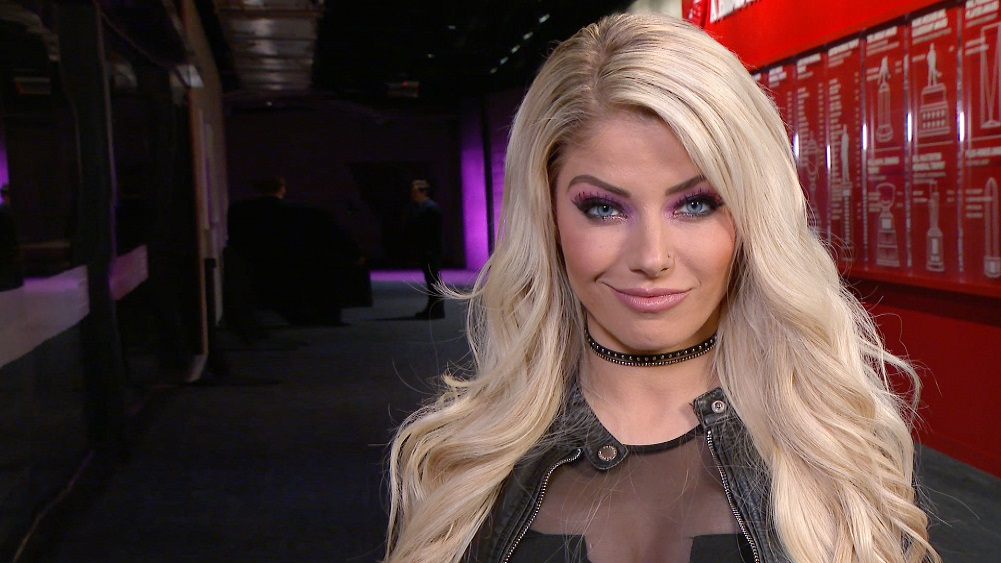 Alexa Bliss comments on her current non-wrestling role