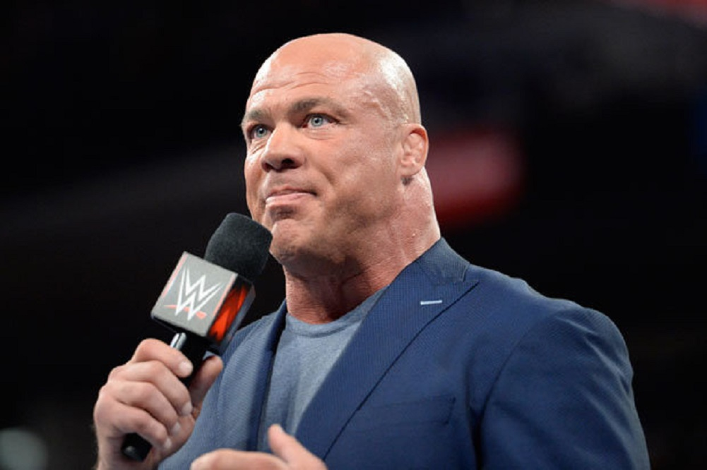 Kurt Angle comments on his career defining match
