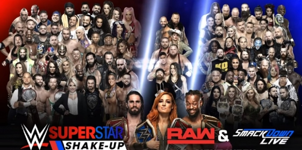 2019 Superstar Shakeup results