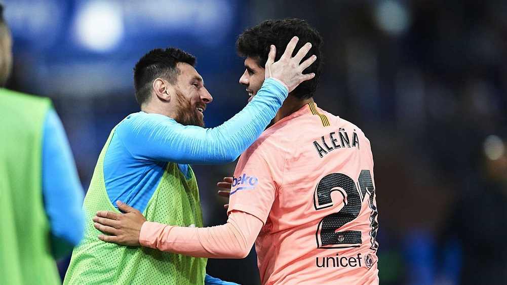 Alena and Suarez put champions-elect on brink of title