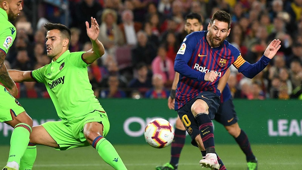 Messi goal secures LaLiga title as Barca eye treble