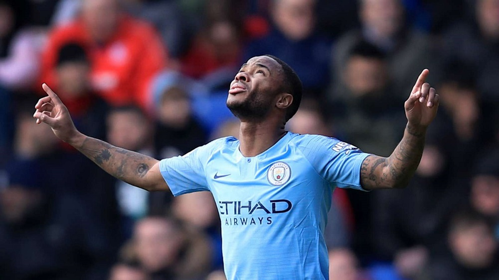 Sterling sends champions top