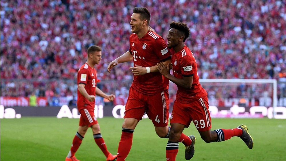Fortunate Sule strike edges Kovac's side closer