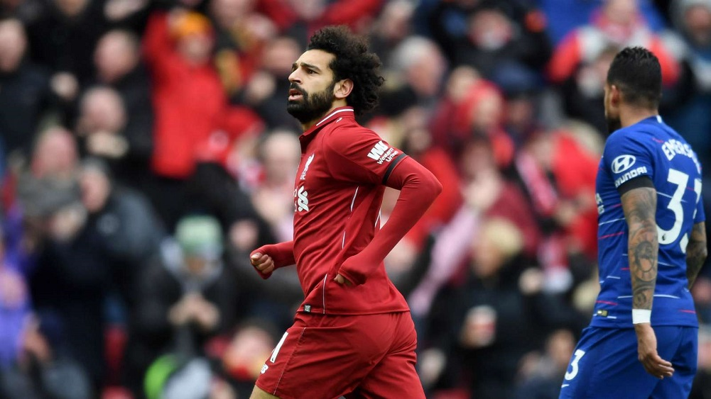 Salah stunner sends Reds back to the summit