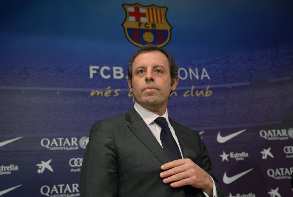 Former Barcelona president acquitted of money laundering
