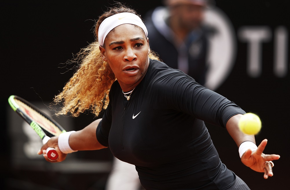 Serena opens clay season with win in Rome