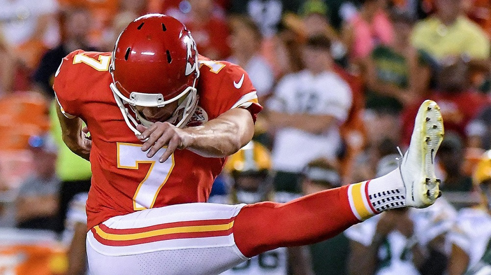 Chiefs sign kicker Butker to 5-year contract extension