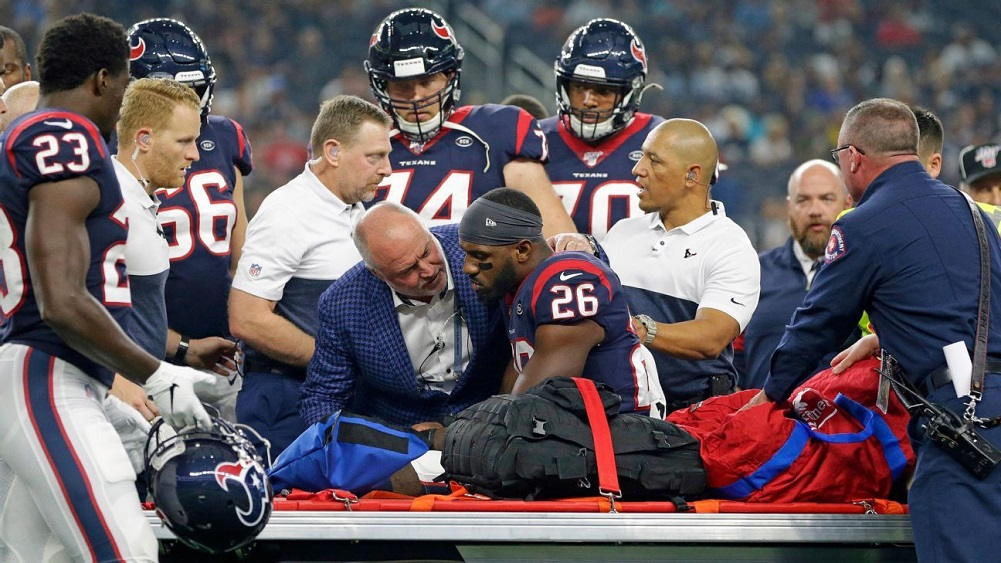 MRI confirms torn ACL for Texans RB Miller
