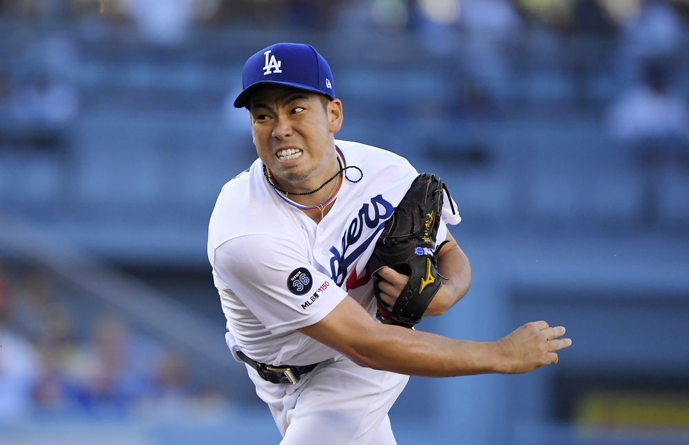 Maeda allows only 3 hits in 7 innings; Dodgers beat Arizona