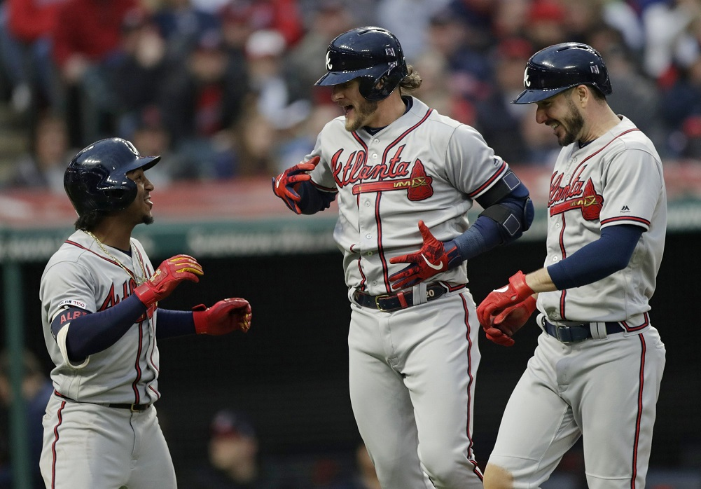Donaldson homers twice, Braves rout Indians
