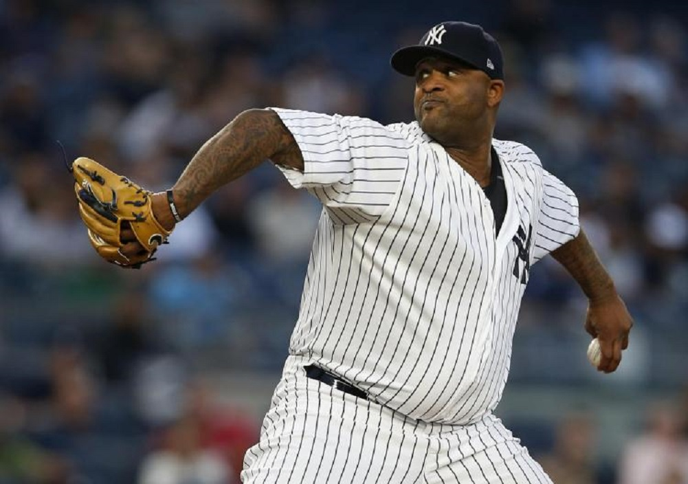 Sabathia put on IL again by Yankees with knee inflammation