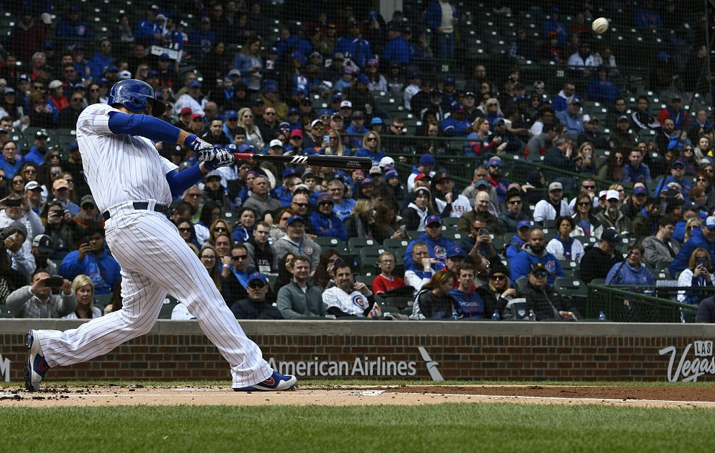 Contreras 2 HRs as Hamels, Cubs beat Trout-less Angel