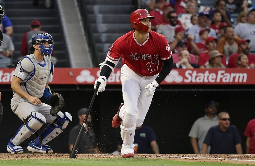 Ohtani, Bour lead Angels to win, series sweep of Dodgers