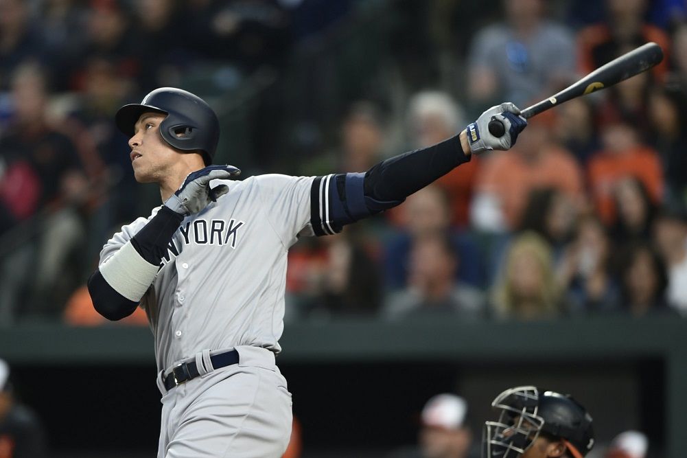 Judge hits 2 HRs, Frazier adds 1 as Yankees beat Orioles