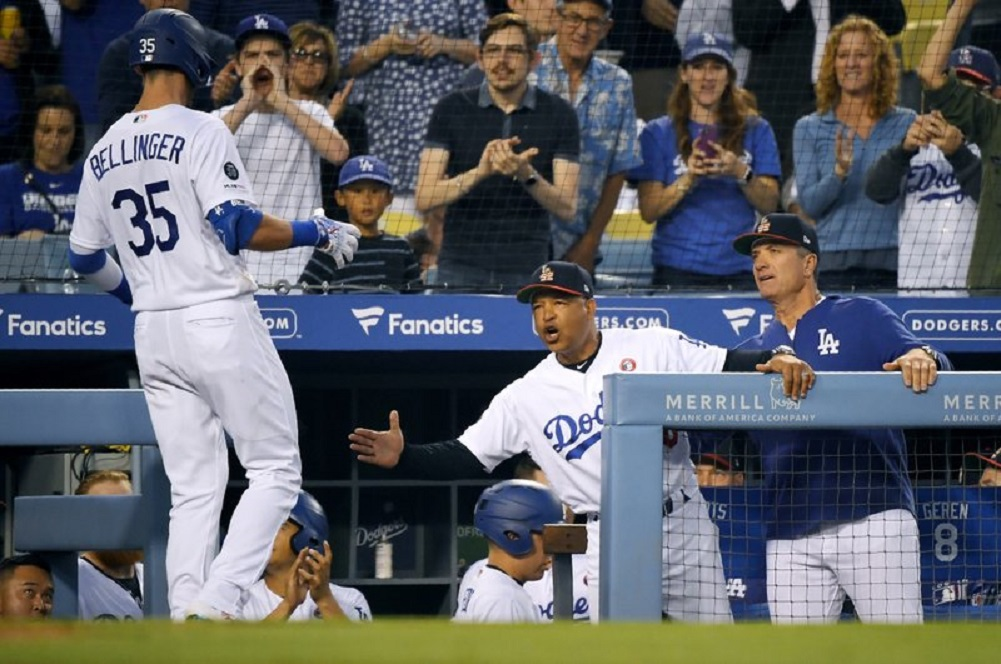 Ryu dominates, Bellinger homers and Dodgers beat Padres