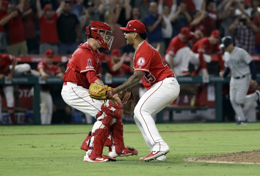 Angels' Cole, Pena combine for no-hitter against Mariners