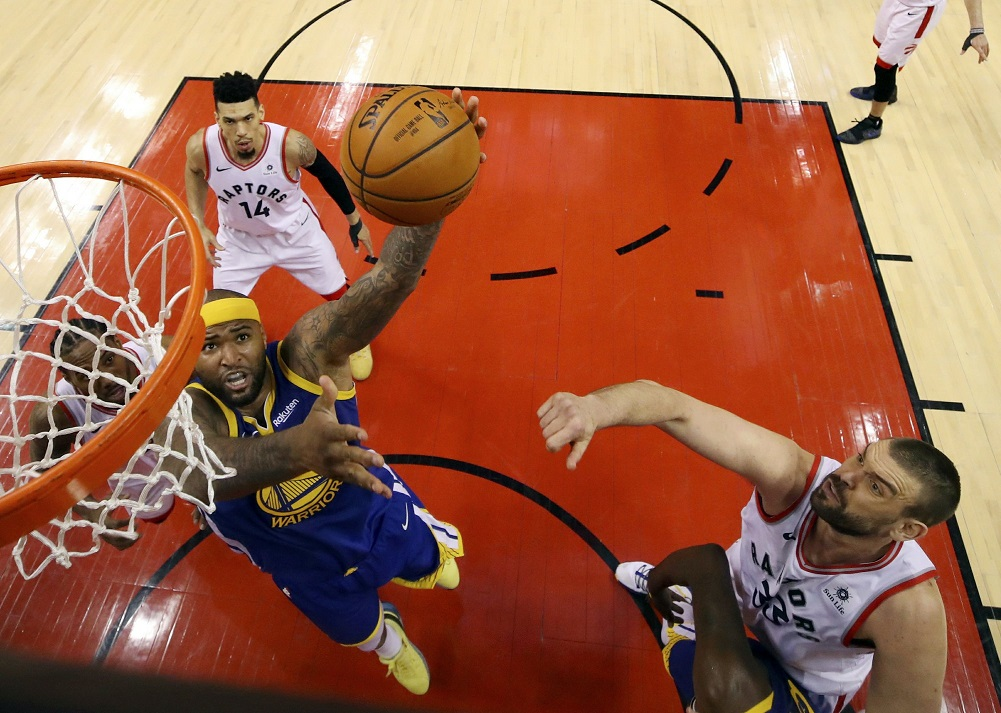Cousins willing to log big minutes if Warriors need