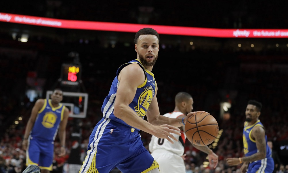 Warriors beat Blazers in OT for NBA Finals berth