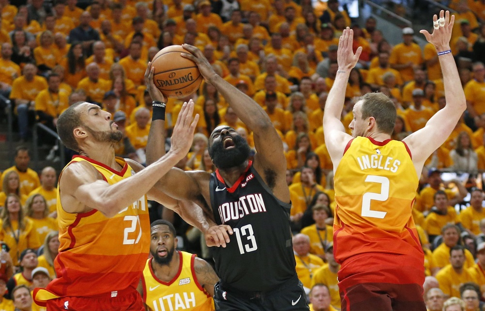 Rockets beat Jazz for 3-0 series lead