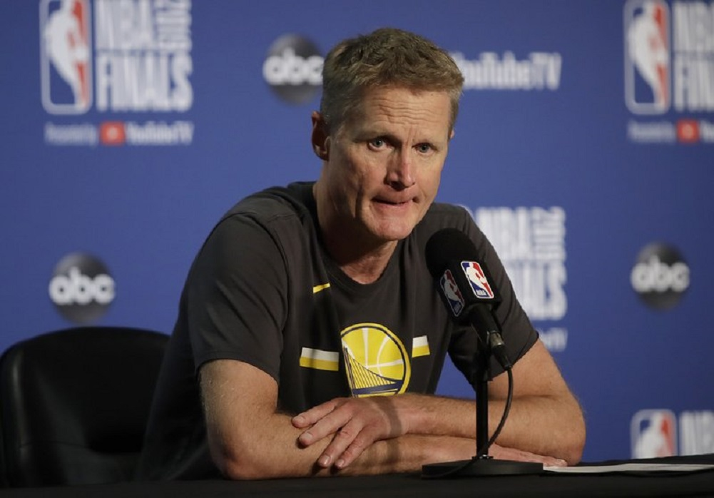 Kerr speaks on Warriors' offseason, hope for future