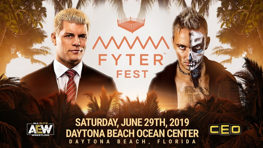 AEW Fyter Fest to stream for FREE on 29 June