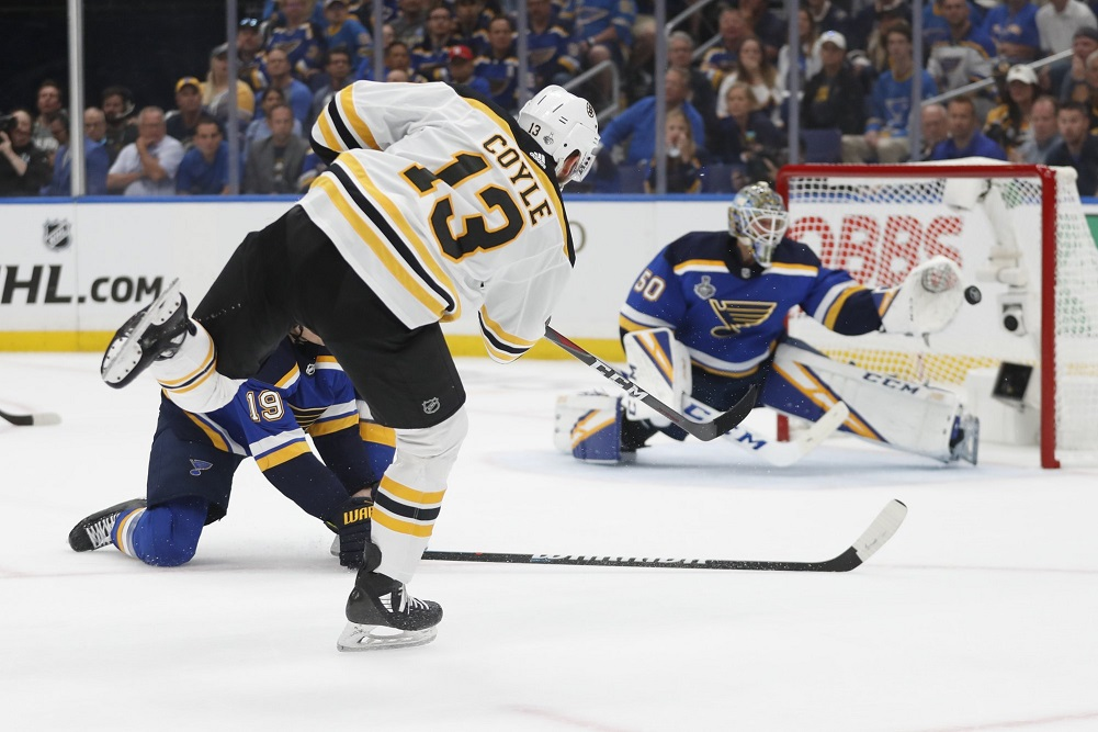 Bruins rout Blues, take 2-1 lead in Stanley Cup Final