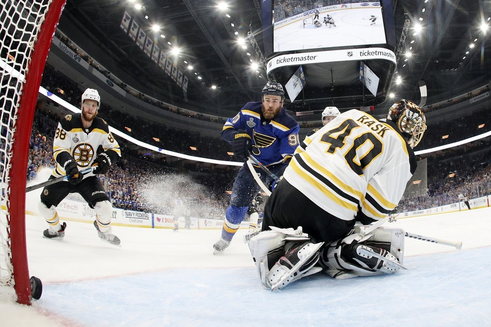 Bounce here, bounce there and Blues, Bruins now knotted