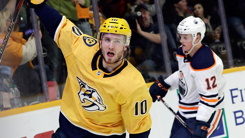 Predators sign Colton Sissons to 7-year, $20M contract
