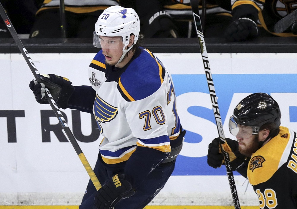 Sundqvist suspended for Game 3 of Stanley Cup Final