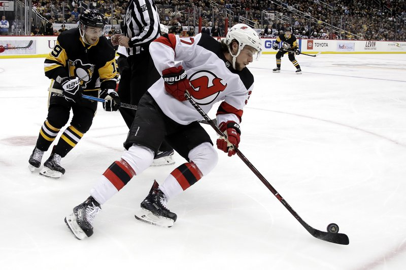 Devils re-sign center Zacha to 3-year, $6.75 million deal