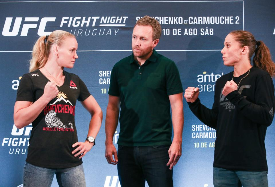 Champ Shevchenko, Carmouche make weight