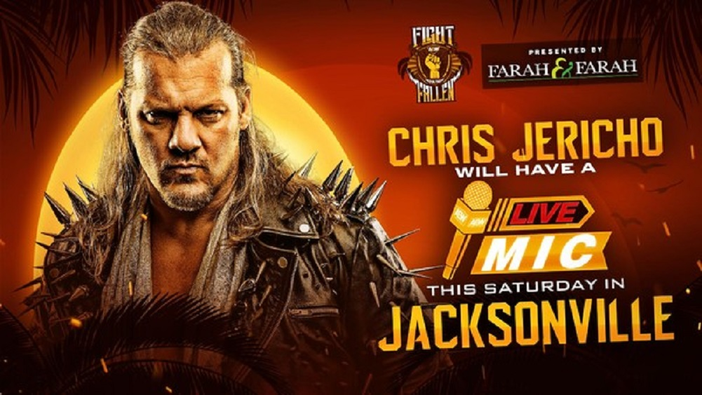 Chris Jericho segment set for Saturday's AEW Fight For The Fallen