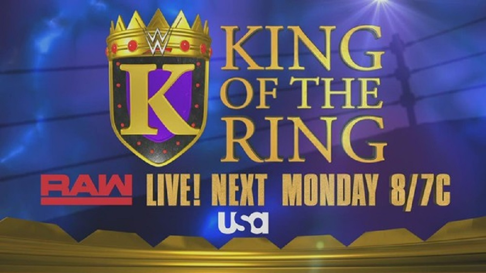 King of the ring returns to next week's RAW