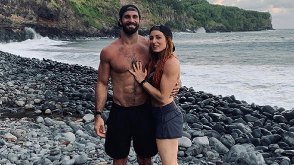 Becky Lynch and Seth Rollins get engaged!