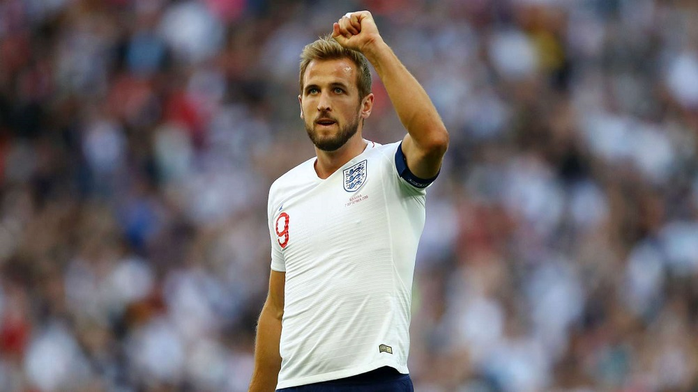 Kane hat-trick helps keep Three Lions perfect