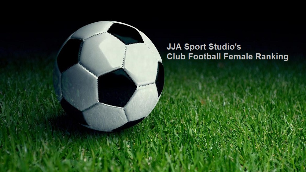 JJA Sport Studio Club Football female rankings