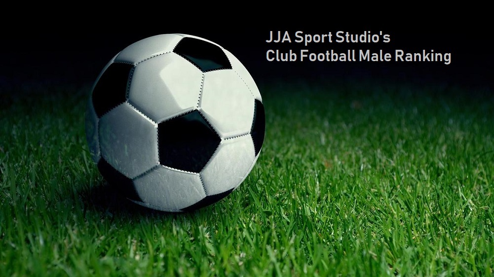 JJA Sport Studio Club Football male rankings
