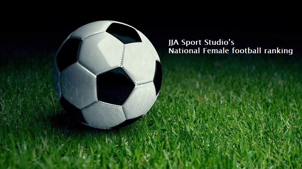 JJA Sport Studio National Football Female rankings