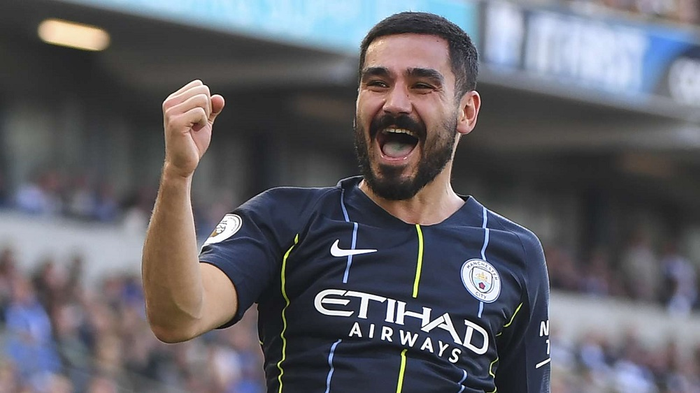 Gundogan sign four year extension with Man City