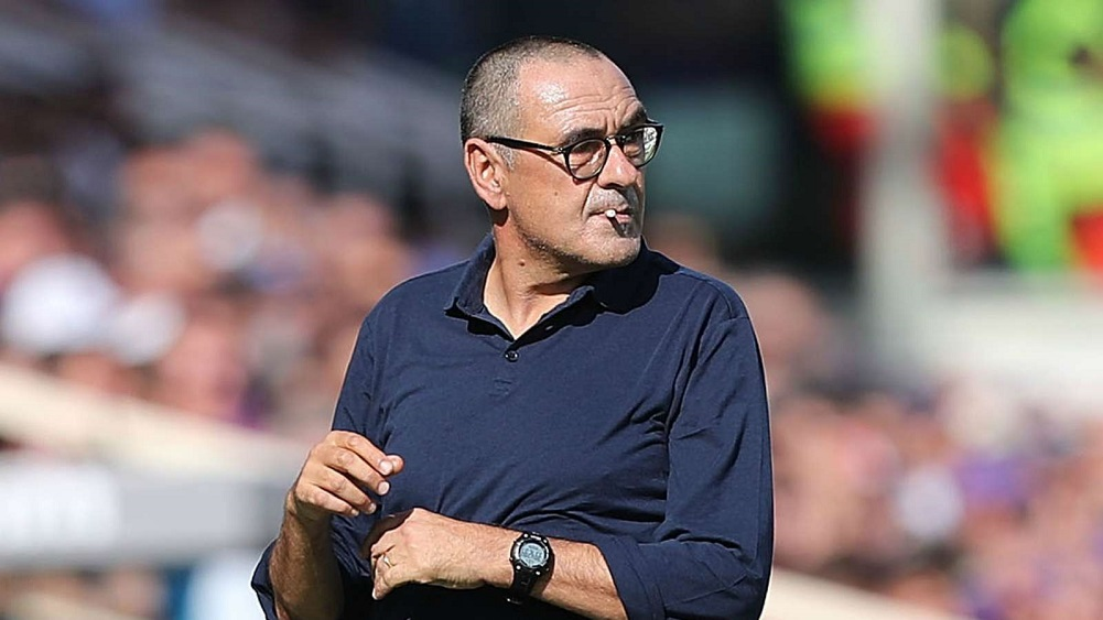Sarri watches on as champions drop first points