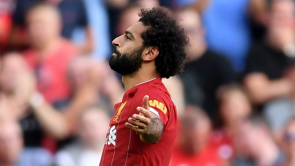 Salah double seals easy win for reds